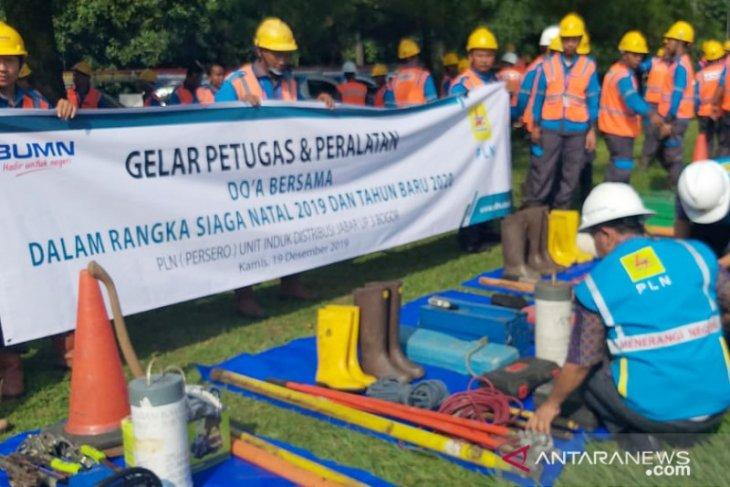 PLN prediksi pemakaian listrik pada Natal dan Tahun Baru di Bogor melonjak hingga 750 MW