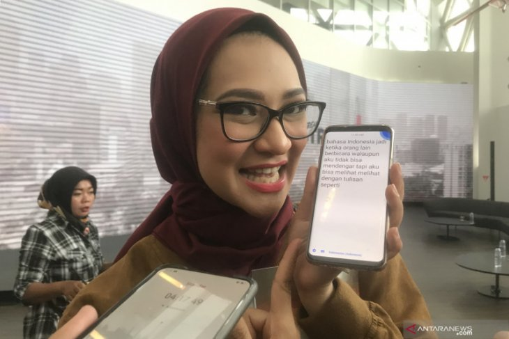 Stafsus Angkie Yudistia akan buat aplikasi untuk disabilitas
