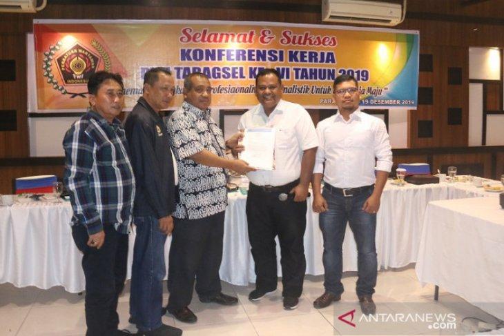 Ketua PWI Sumut serahkan SK kepengurusan PWI Sibolga-Tapanuli Tengah