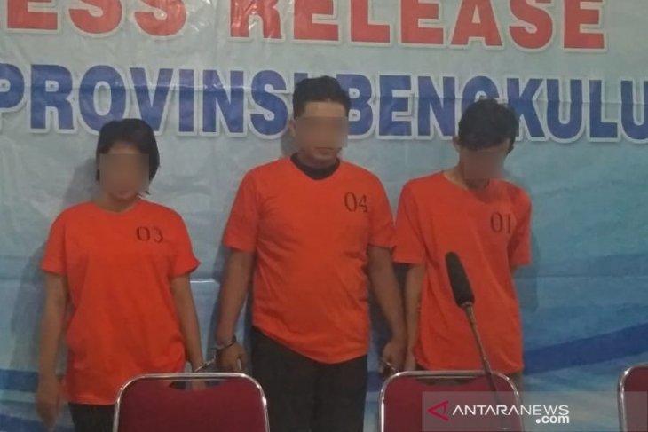 BNN Bengkulu tangkap tiga pengedar shabu