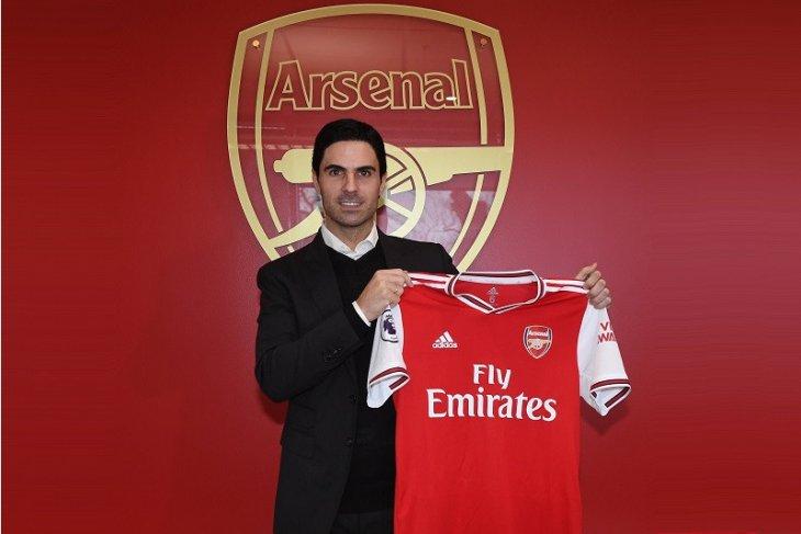 Arsenal resmi umumkan Mikel Arteta sebagai pelatih