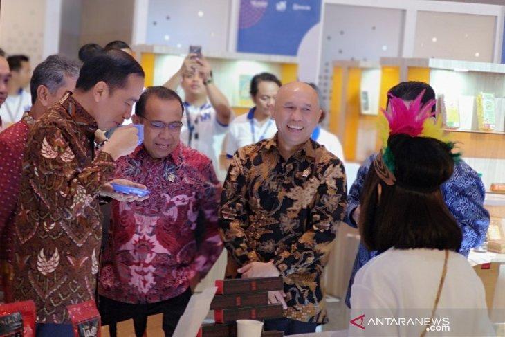 President Jokowi opens UMKM Export BRIlianpreneur 2019 in Jakarta