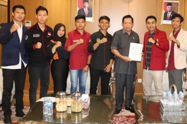 Ketua DPRD Kaltim Terima Perwakilan Mahasiswa