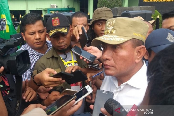 N Sumatra promises to crackdown illegal gold miners