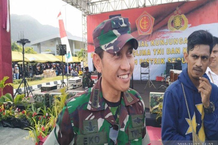 Satu TNI gugur dalam kontak tembak dengan KKB di Ugimba