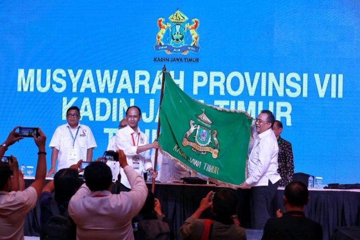 Adik Dwi Putranto pimpin Kadin Jatim periode 2019-2024