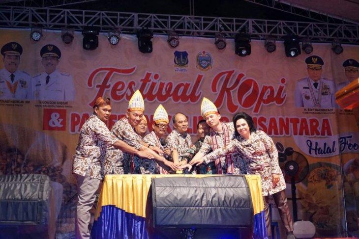 Tebing Tinggi gelar festival kopi dan pameran kuliner nusantara