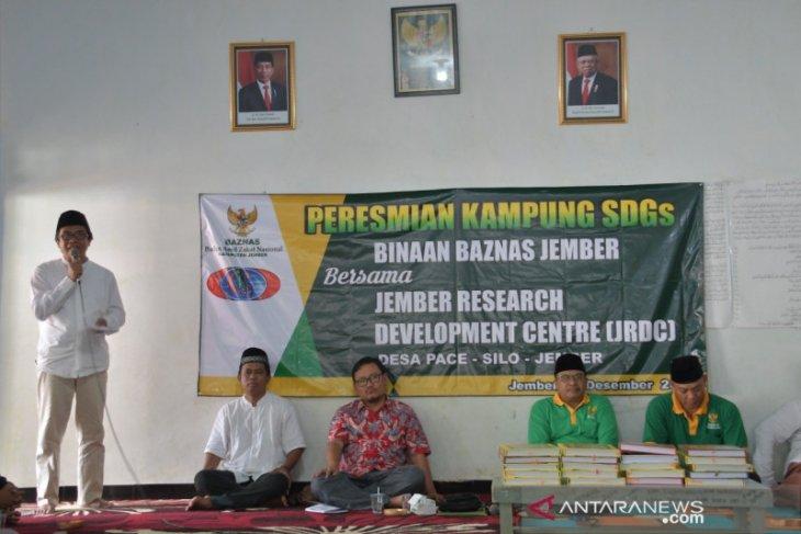 Baznas Jember dan JRDC luncurkan kampung SDGs