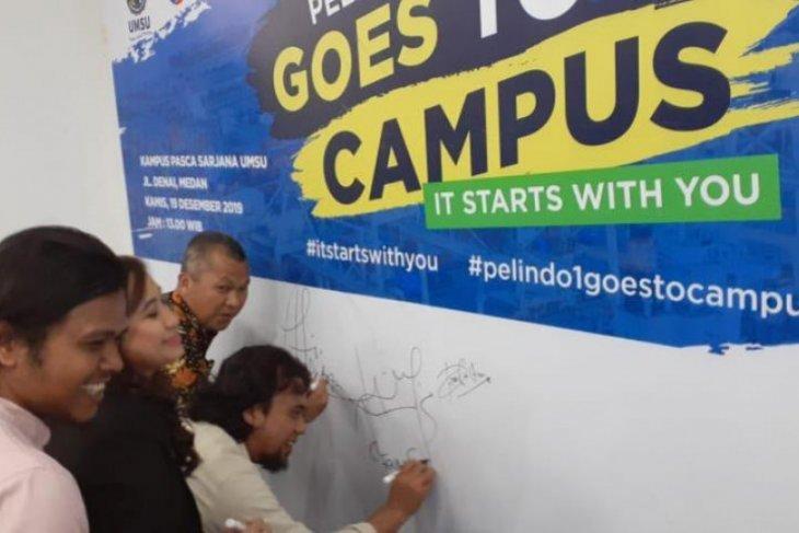 FISIP UMSU-Pelindo 1 deklarasikan pengurangan sampah  plastik