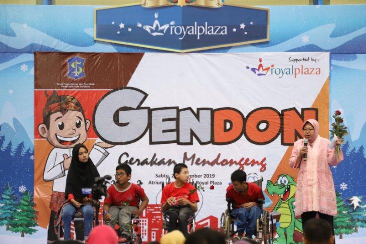 Gerakan mendongeng dideklarasikan di Kota Surabaya