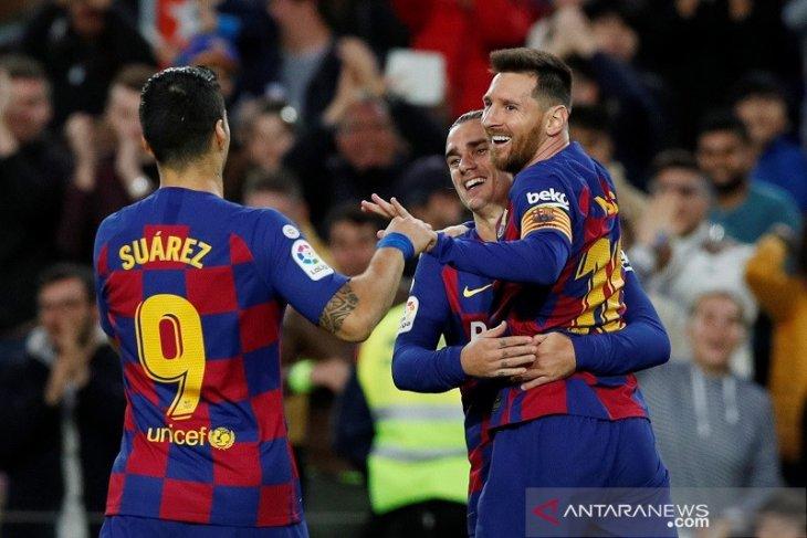 Liga Spanyol: Barcelona sikat Alaves 4-1, Sevilla permalukan Mallorca