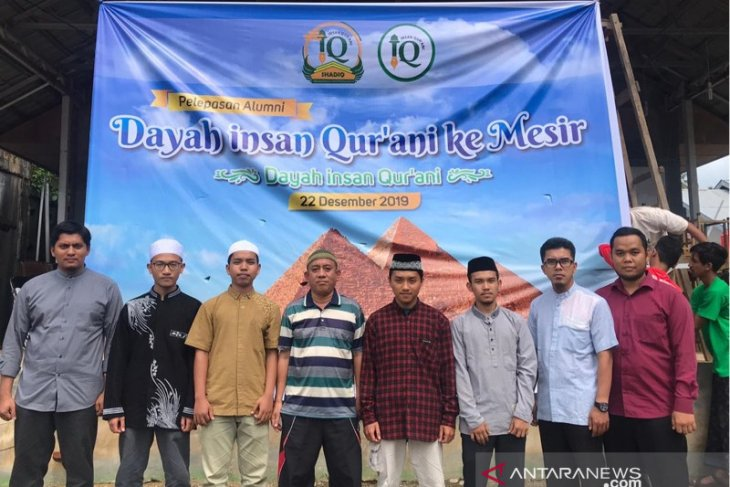 Tujuh santri Dayah Insan Qurani lulus kuliah ke Mesir