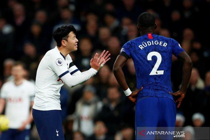 Kemenangan Chelsea atas Tottenham Hotspur dirusak pelecehan rasial terhadap Ruediger