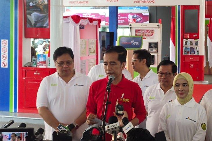 Jokowi targetkan peremajaan kebun sawit hingga 500.000 HA
