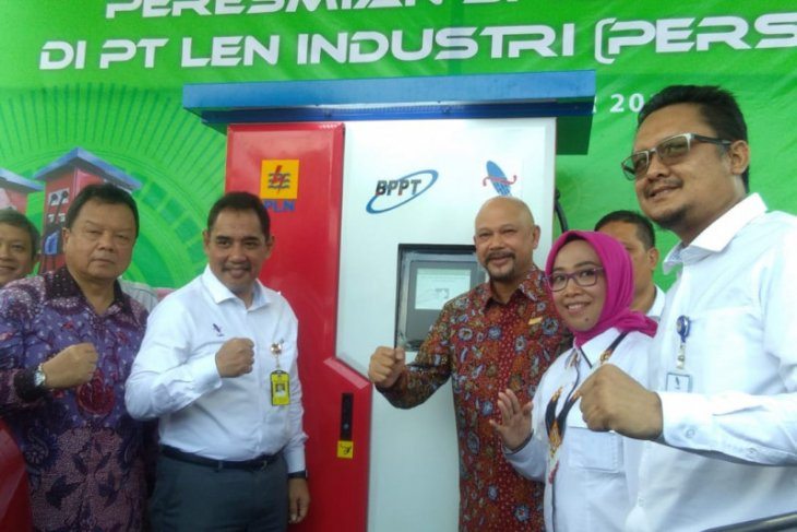 BPPT installs third fast charging station for electric cars in Bandung