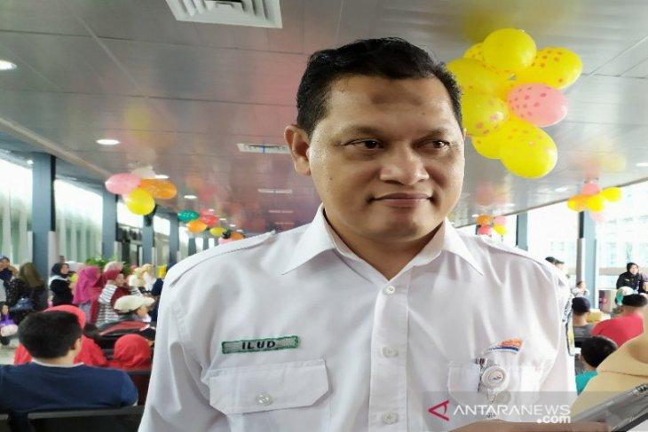Jumlah penumpang  kereta api Natal di Sumut turun