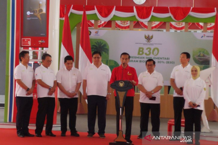 Jokowi highlights rationale behind expediting biodiesel program