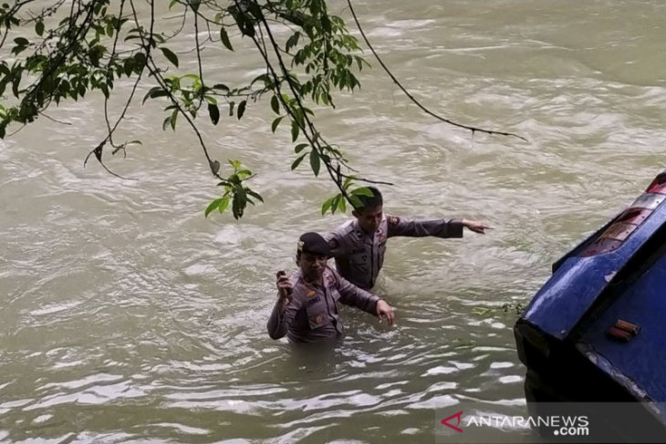 Lokasi kecelakaan bus Sriwijaya di Lematang Pagaralam terkenal rawan