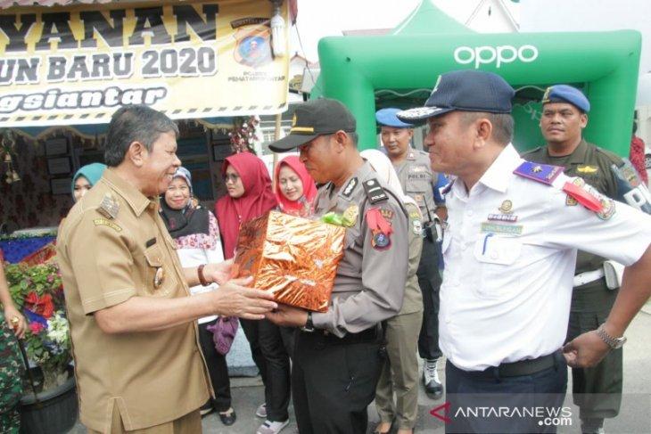 Forkopimda Pematangsiantar tinjau pasar tradisional dan pospam