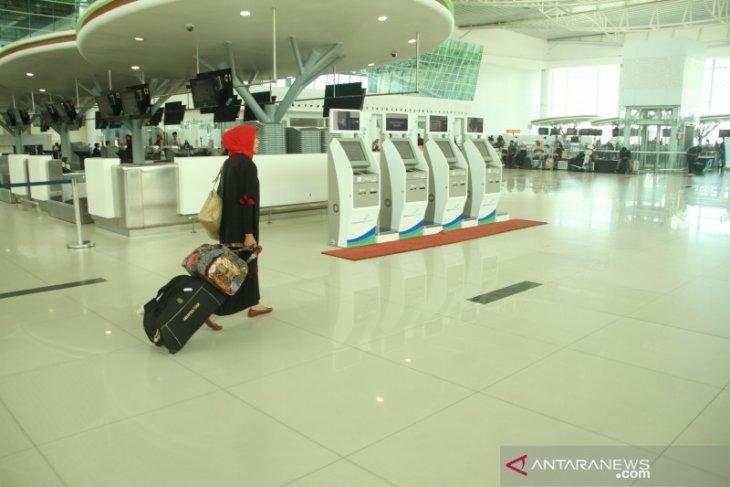Jumlah penumpang pesawat udara Kaltim turun 77,88 persen