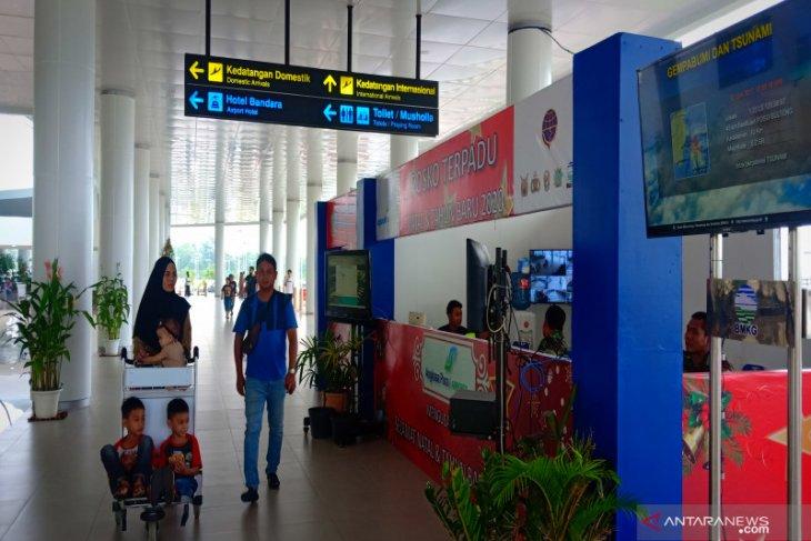 Penumpang Bandara Internasional Syamsudin Noor alami kenaikan