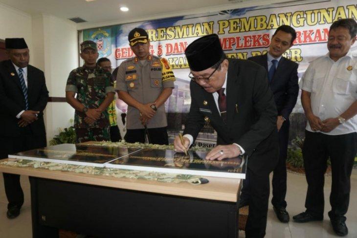 Kantor Baru Pemda Paser Dilengkapi Command Center