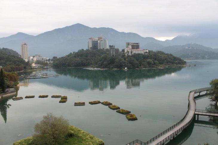 Danau Matahari Bulan, surga pecinta gowes di Taiwan