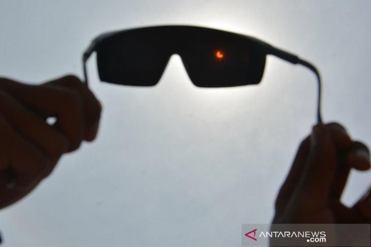 Gerhana matahari sebagian Jawa Timur