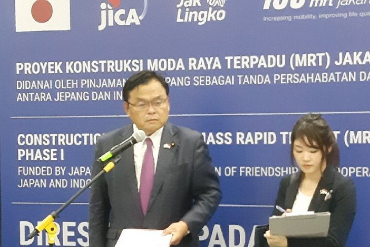 Japan hopes MRT Jakarta can curb traffic congestion issues