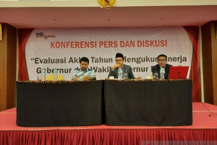 Survei VISI : Elektabilitas Wahidin Halim dinilai positif