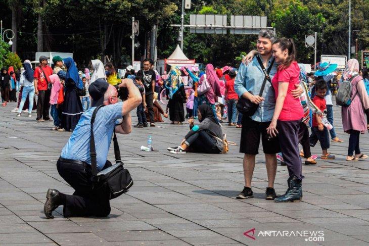 Tourist arrivals in Jakarta plunge 94% in one month