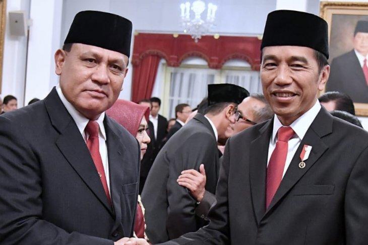 Ketua KPK  tegaskan tak lagi pegang jabatan apapun di Polri