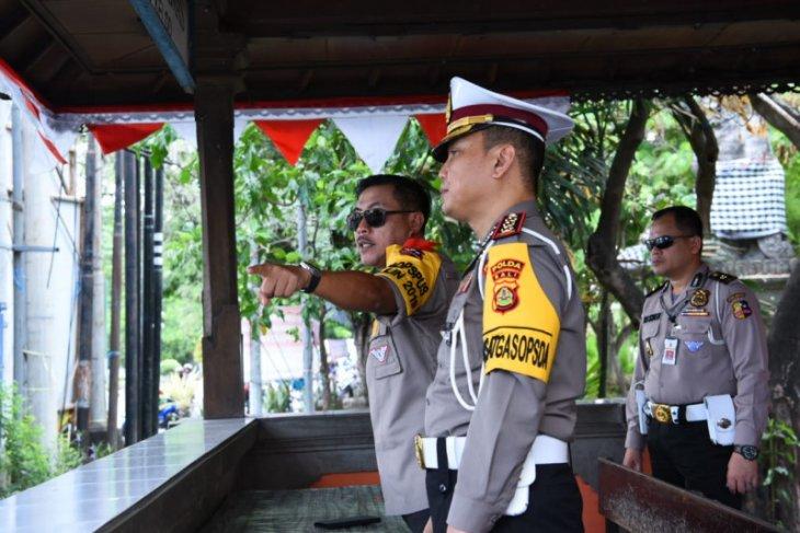 Kakorlantas perkirakan 35.000 kendaraan rayakan tahun baru di Bali