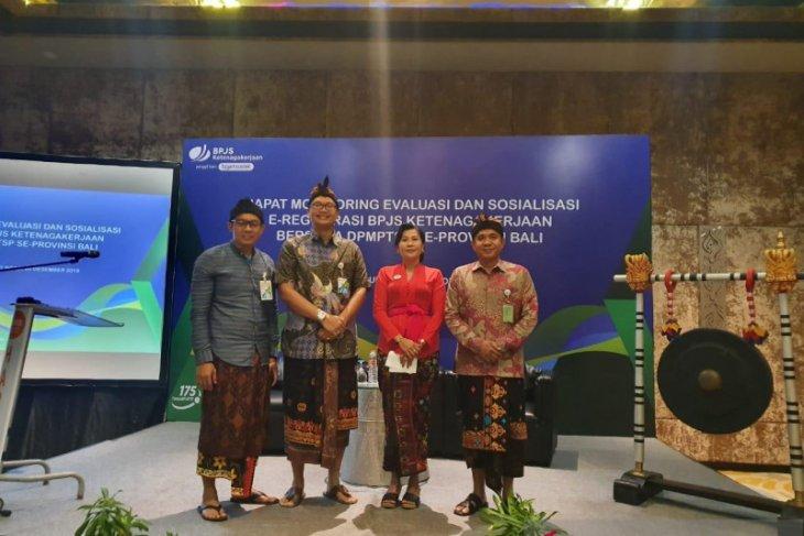 BP Jamsostek Bali, Nusa Tenggara, Papua sosialisasikan e-registrasi