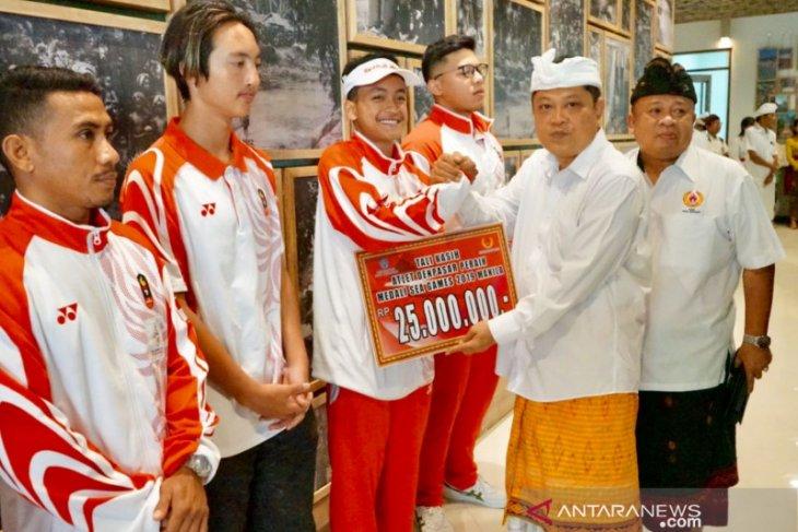 Pemkot Denpasar berikan bonus kepada lima atlet SEA Games 2019