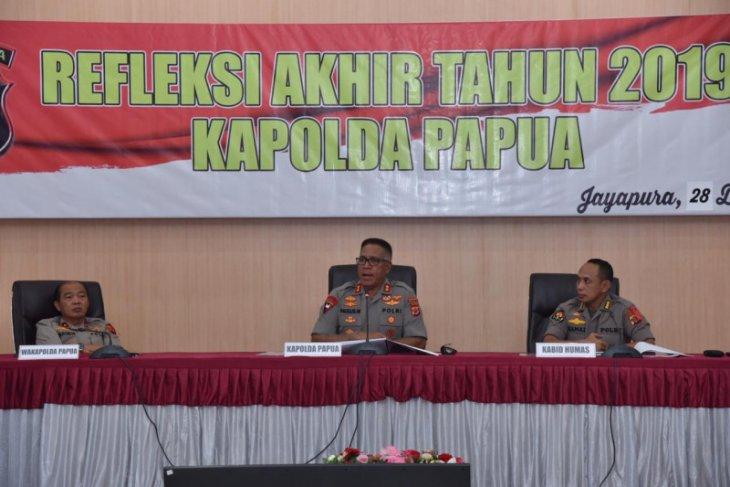 Polda Papua tangani 23 kasus kelompok sipil bersenjata selama 2019