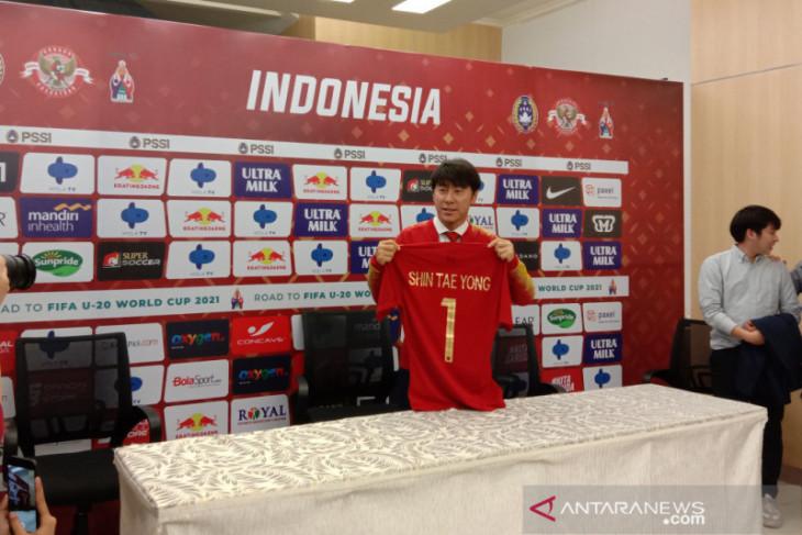 PSSI perkenalkan Shin Tae-Yong sebagai pelatih timnas Indonesia