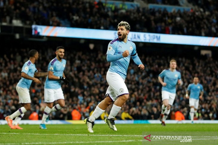 Manchester City hentikan kemenangan tandang Sheffield United