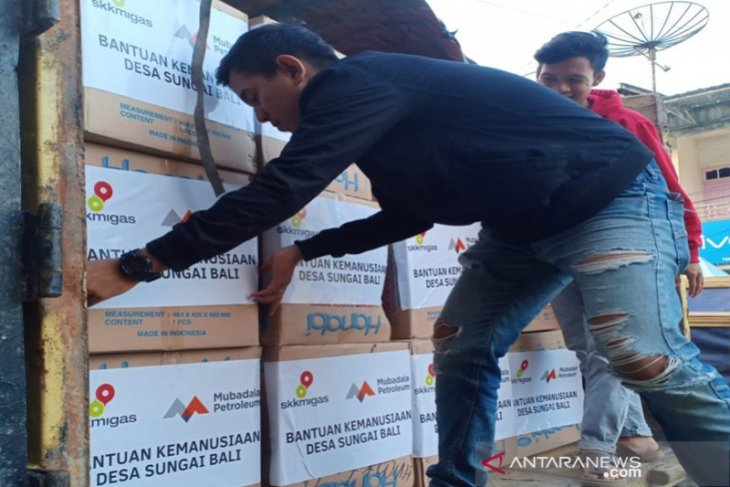 SKK Migas dan Mubadala Petroleum bantu korban kebakaran di Kotabaru