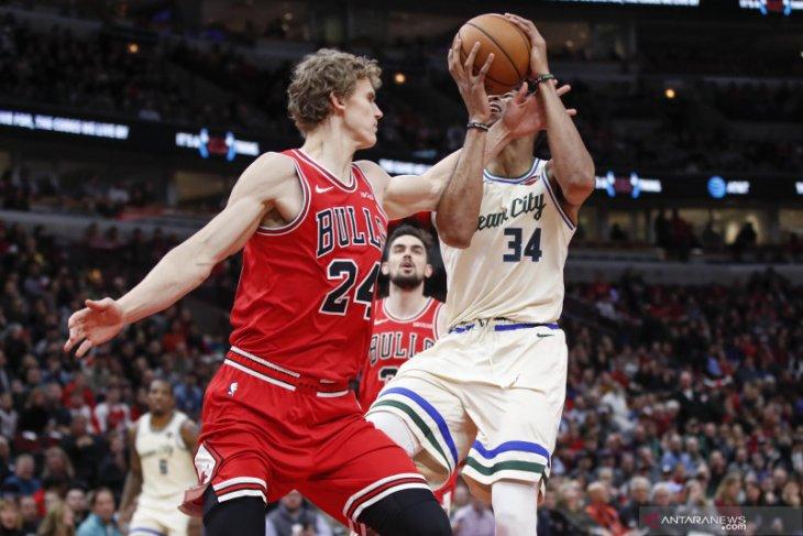 Basket, NBA - Antetokounmpo pimpin Buck kalahkan Hornet dalam laga NBA di Paris