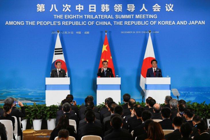 Korsel dan China melakukan pembicaraan tingkat tertinggi sejak wabah corona