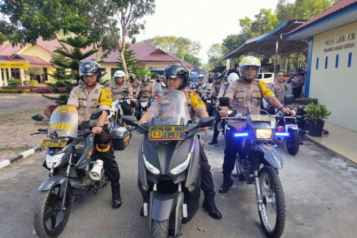 Kapolres Langkat: Antisipasi gangguan genk motor di malam tahun baru
