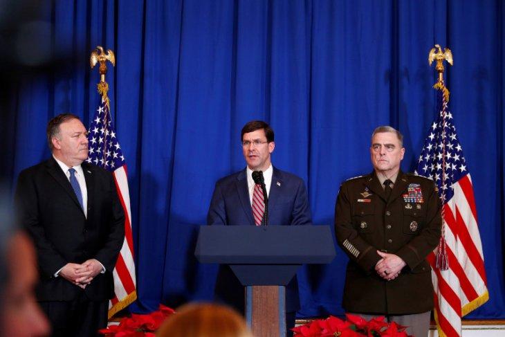 Pentagon sebut tak ada bukti spesifik Iran akan serang empat kedubes AS