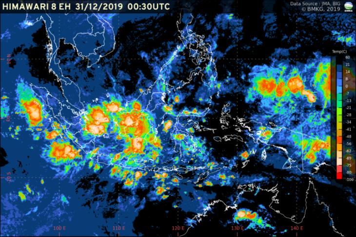 BMKG ingatkan potensi hujan lebat dan angin kencang di Lampung
