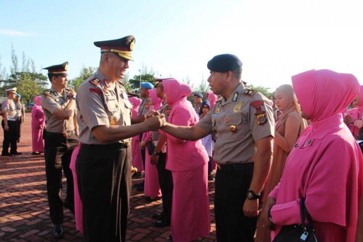 Ribuan personel Polda Aceh naik pangkat