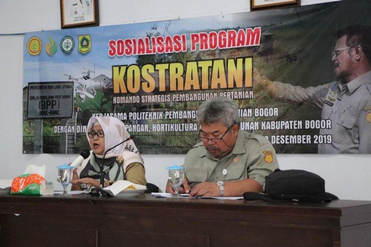 Polbangtan Bogor adakan sosialisasi Kostratani di Kabupaten Bogor