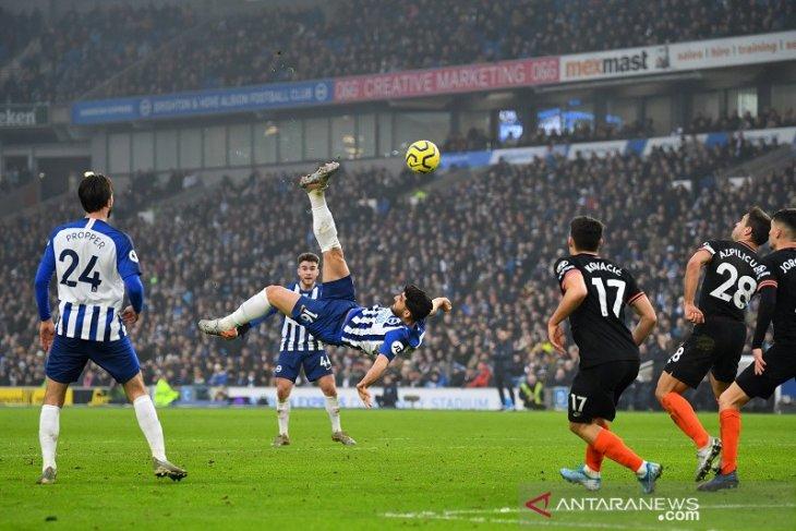 Gol spektakuler Jahanbakhsh batalkan kemenangan Chelsea atas Brighton