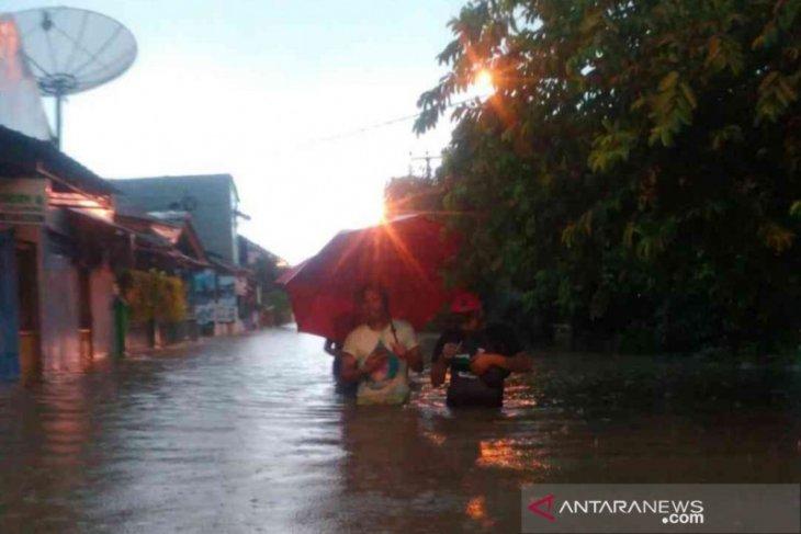 Kota Bekasi dilanda banjir pada awal 2020