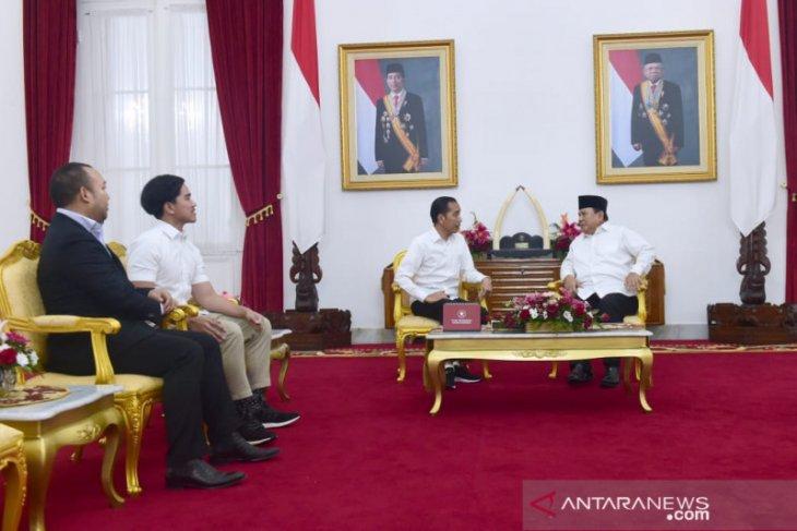 Awali 2020, Presiden Jokowi terima Menhan di Yogyakarta