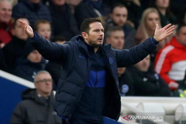 Frank Lampard minta Chelsea lebih buas usai kehilangan dua poin di Brighton